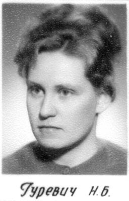 Гуревич Н.Б., учитель физики
